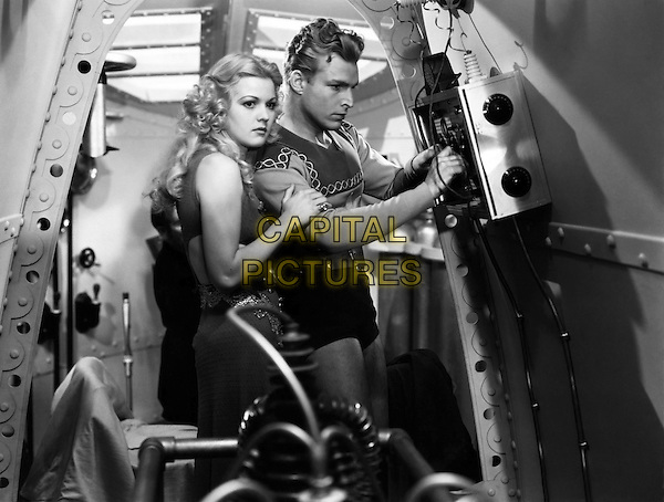 Buster Crabbe<br /> in Flash Gordon (1936) <br /> *Filmstill - Editorial Use Only*<br /> CAP/NFS<br /> Image supplied by Capital Pictures