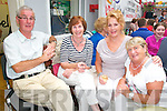 Listowel Tidy Towns BBQ:Attending the fund raising BBQ for Listowel Tidy Towns committee at Stack's Off Licence on Saturday evening last were Tedddy & Margaret Murphy, Margaret Murphy & Joan Kenny.