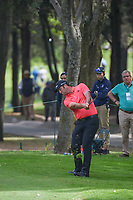 Jon Rahm (ESP) hits his approach shot on 15 during round 3 of the World Golf Championships, Mexico, Club De Golf Chapultepec, Mexico City, Mexico. 2/23/2019.<br /> Picture: Golffile | Ken Murray<br /> <br /> <br /> All photo usage must carry mandatory copyright credit (© Golffile | Ken Murray)