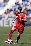 Sergio Escudero Palomo of Sevilla FC in action during their La Liga match between Deportivo Leganes and Sevilla FC at the Butarque Municipal Stadium on 15 October 2016 in Madrid, Spain. Photo by Diego Gonzalez Souto / Power Sport Images