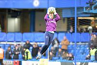 David Martin of West Ham United starts in goal during Chelsea vs West Ham United, Premier League Football at Stamford Bridge on 30th November 2019