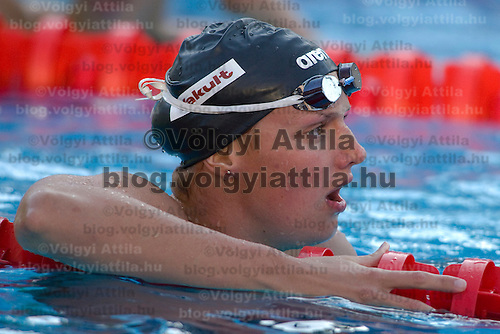 Katinka Hosszu (HUN) competes during the 200 m Women's Butterfly Swimming competition during the 13th FINA Swimming World Championships held in Rome, Italy. Thursday, 30. July 2009. ATTILA VOLGYI