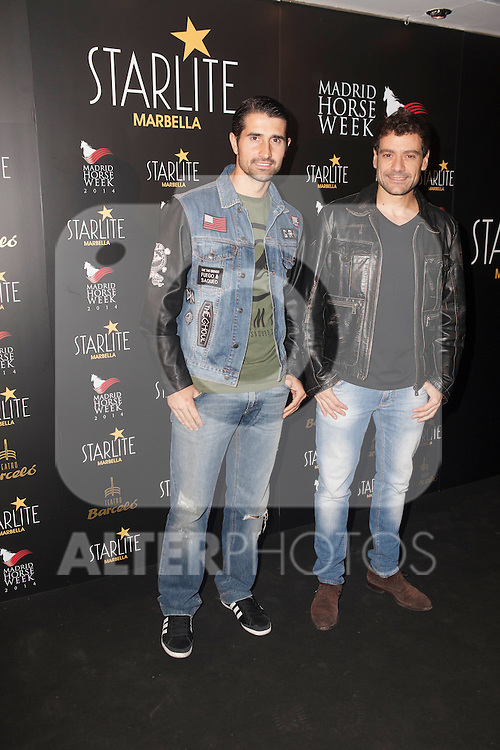 Spanish singer Juan Pena attends Starlite 2015 presentation party at the Barcelo Theater on November 26, 2014 in Madrid, Spain. (ALTERPHOTOS / Nacho Lopez)