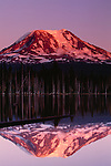 Mt. Adams' northern slope at sunset, Washington, USA