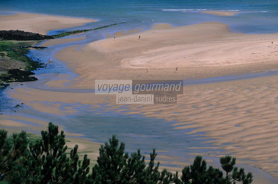 Europe/France/Bretagne/22/Côtes d'Armor/Sable-d'Or-Les-Pins: La lagune