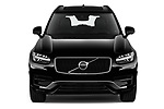 Car photography straight front view of a 2020 Volvo XC90 R-Design 5 Door SUV
