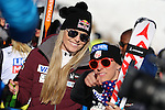 Audi FIS Ski World Cup Ladies Super-G at in Cortina d'Ampezzo, on January 29, 2017. Slovenia's Ilka Stuhec wins ahead of Italy's Sofia Goggia, Anna Veith from Austria is third. The new boy friend of Lindsey Vonn, Kenan Smith, Los Angeles Rams (NFL) assistant was there. Pictured: Lindsey Vonn