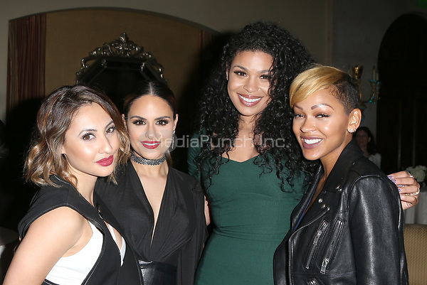 BEVERLY HILLS, CA - March 21: Francia Raisa, Pia Toscano, Jordin Sparks, Meagan Good, At Generosity.org Fundraiser For World Water Day_Inside At Montage Hotel In California on March 21, 2017. Credit: FS/MediaPunch