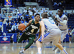 January 20, 2016 - Colorado Springs, Colorado, U.S. -  Colorado State guard, John Gillon #4, controls play at the top of the key during an NCAA basketball game between the Colorado State University Rams and the Air Force Academy Falcons at Clune Arena, United States Air Force Academy, Colorado Springs, Colorado.  Colorado State defeats Air Force 83-79.