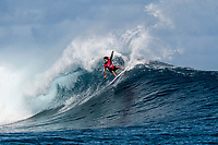 NAMOTU, Fiji (Wednesday, June 14, 2017) Connor O'Leary (AUS) - The Outerknown Fiji Pro, Stop No. 5 on the 2017 World Surf League (WSL) Championship Tour (CT), was completed today with Matt Wilkinson (AUS) defeating tour rookie Connor O'Leary (AUS) in the 40 minute final. Conditions at Cloudbreak this morning. were near perfect with sets in the 6'-8' range and light winds. With his win today Wilkinson jumps to the top of the world tour rankings after all of the top seeds were eliminated early in the event.<br />  Location:      Tavarua/Namotu, Fiji<br /> Event window:   June 4 - 16, 2017<br /> Today's call:<br />  Finals <br /> Conditions:         5 - 7 foot 1.5 - 2 metre)<br /> <br /> Photo: joliphotos.com