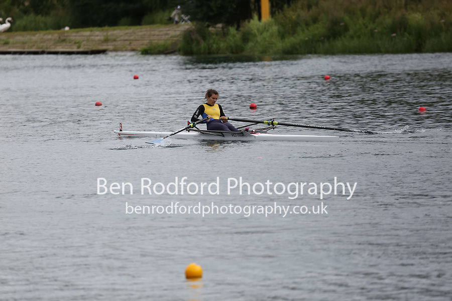 Race: 67: W Tier2 1x  Rep 1<br /> <br /> Peterborough Summer Regatta 2017 - Saturday<br /> <br /> To purchase this photo, or to see pricing information for Prints and Downloads, click the blue 'Add to Cart' button at the top-right of the page.