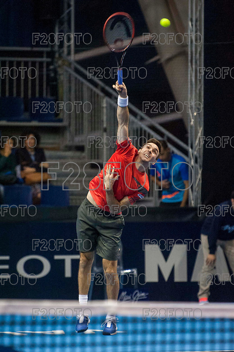 VALENCIA, SPAIN - OCTOBER 28: Colin Fleming during Valencia Open Tennis 2015 on October 28, 2015 in Valencia , Spain