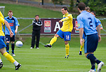UCD v St Johnstone...10.07.11  Pre-season Friendly.Kevin Moon fires home a 25 yard shot into the top of the net to give St Johnstone the lead..Picture by Graeme Hart..Copyright Perthshire Picture Agency.Tel: 01738 623350  Mobile: 07990 594431