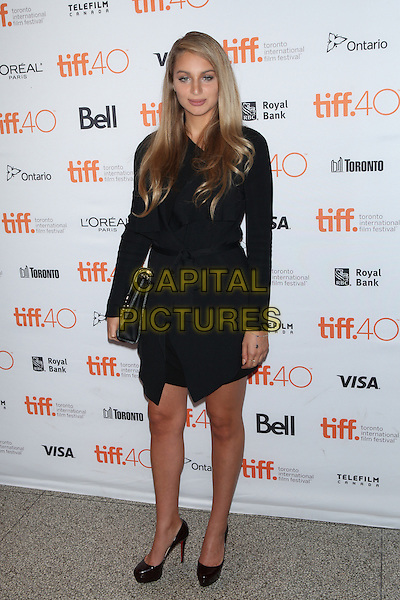 Toronto, Canada - September 13: Nat Leone attends the 'Born To Be Blue' premiere at the 2015 Toronto International Film Festival on September 13, 2015 in Toronto, Canada.<br /> CAP/MPI/COR<br /> &copy;COR/MPI/Capital Pictures