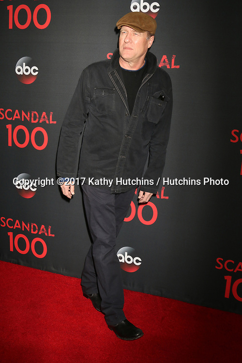 """LOS ANGELES - APR 8:  Gregg Henry at the """"Scandal"""" 100th Show Party at Fig & Olive Resturant on April 8, 2017 in West Hollywood, CA"""