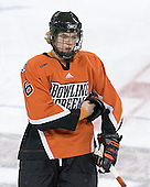 Sophomore defenseman Russ Sinkewich of Westlake, Ohio is one of four Ohio natives on the Bowling Green roster. The Eagles of Boston College defeated the Falcons of Bowling Green State University 5-1 on Saturday, October 21, 2006, at Kelley Rink of Conte Forum in Chestnut Hill, Massachusetts.<br />