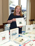 Roisin Macken of Lovebird Gallery at the Cottage Market in St. Peter's Parish hall. Photo:Colin Bell/pressphotos.ie