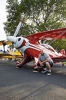 Aerobatic aircraft, Flying W Airport, Lumberton, New Jersey