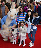 Imogen Thomas and Cara De La Hoyde attend press performance of Where Is Peter Rabbit? musical following the beloved character Peter Rabbit and his friends in a story based on Beatrix Potter's magical world, at Theatre Royal Haymarket<br /> CAP/JOR<br /> &copy;JOR/Capital Pictures