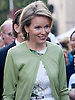 """BELGIAN ROYALS ATTEND NATIONAL DAY.Crown Princess Mathilde on a walkabout on the occasion of Belgian National Day, Brussels_21/07/2012.Photo Credit: ©Alain Rolland/Newspix International..**ALL FEES PAYABLE TO: """"NEWSPIX INTERNATIONAL""""**..PHOTO CREDIT MANDATORY!!: NEWSPIX INTERNATIONAL..IMMEDIATE CONFIRMATION OF USAGE REQUIRED:.Newspix International, 31 Chinnery Hill, Bishop's Stortford, ENGLAND CM23 3PS.Tel:+441279 324672  ; Fax: +441279656877.Mobile:  0777568 1153.e-mail: info@newspixinternational.co.uk"""