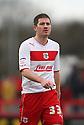 Ben Chorley of Stevenage. Stevenage v Leyton Orient - npower League 1 -  Lamex Stadium, Stevenage - 2nd February, 2013. © Kevin Coleman 2013.