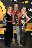 """LOS ANGELES - MAY 31:  Melissa Leo, Jim Carrey, Ari Graynor at the Showtime's """"I'm Dying Up Here"""" Premiere at the Directors Guild of America on May 31, 2017 in Los Angeles, CA"""