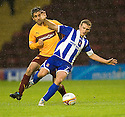 :: CRAIG BRYSON IS CAUGHT LATE BY MOTHERWELL'S KEITH LASLEY   ::.11/05/2011 sct_jsp015_motherwell_v_kilmarnock     .Copyright  Pic : James Stewart.James Stewart Photography 19 Carronlea Drive, Falkirk. FK2 8DN      Vat Reg No. 607 6932 25.Telephone      : +44 (0)1324 570291 .Mobile              : +44 (0)7721 416997.E-mail  :  jim@jspa.co.uk.If you require further information then contact Jim Stewart on any of the numbers above.........