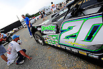 Jul 4, 2009; 6:02:50 PM; Bulls Gap, TN., USA; The Lucas Oil Late Model Dirt Series running a 10,000 to win race at Volunteer Speedway.  Mandatory Credit: (thesportswire.net)