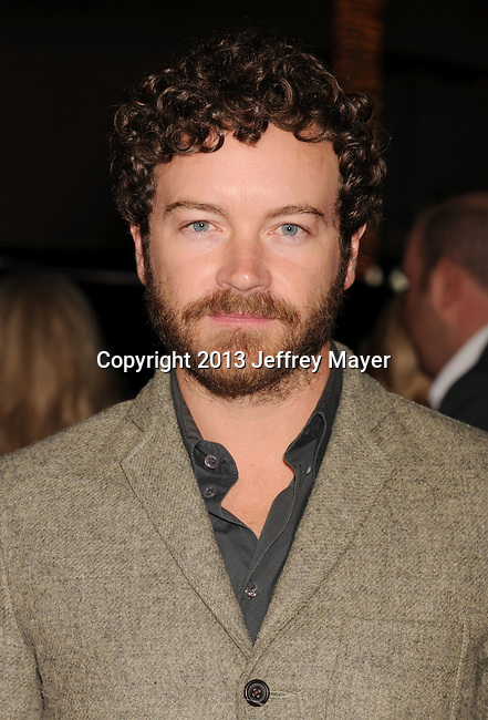 HOLLYWOOD, CA - JANUARY 07: Danny Masterson arrives at the 'Gangster Squad' - Los Angeles Premiere at Grauman's Chinese Theatre on January 7, 2013 in Hollywood, California.