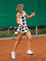13-08-11, Tennis, Hillegom, Nationale Jeugd Kampioenschappen, NJK, Paula de Man