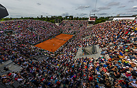 Paris, France, 4 June, 2017, Tennis, French Open, Roland Garros, Court Suzanne Lenglen<br /> Photo: Henk Koster/tennisimages.com