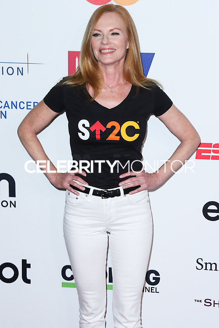 HOLLYWOOD, LOS ANGELES, CA, USA - SEPTEMBER 05: Marg Helgenberger arrives at the 4th Biennial Stand Up To Cancer held at Dolby Theatre on September 5, 2014 in Hollywood, Los Angeles, California, United States. (Photo by Xavier Collin/Celebrity Monitor)