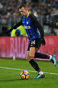 9th December 2017, Allianz Stadium, Turin, Italy; Serie A football, Juventus versus Inter Milan; Ivan Perisic on the ball