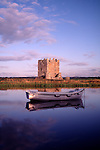 Scottish Castle Threave Castle on the River Dee near Castle Douglas Scotland