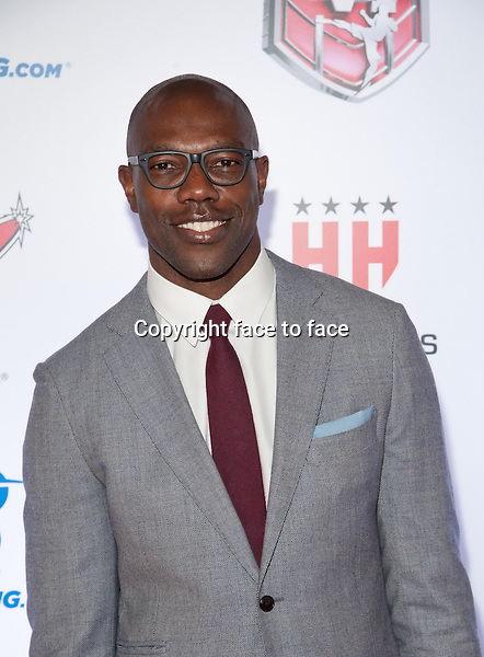 Terrell Owens pictured at Mixed Martial Arts Awards at The Venetian Las Vegas in Las Vegas, NV on February 7, 2014.<br />