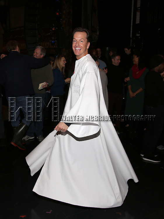Matt Wall attend the Actors' Equity Opening Night Gypsy Robe Ceremony for 'Sunset Boulevard'  honoring Matt Wall at the Palace Theatre Theatre on February 9, 2017 in New York City.