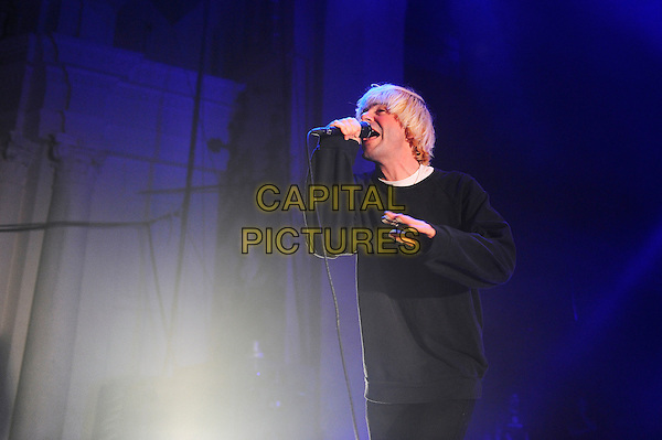 LONDON, ENGLAND - DECEMBER 19: Tim Burgess of 'The Charlatans' performing at Brixton Academy on December 19, 2015 in London, England.<br /> CAP/MAR<br /> &copy; Martin Harris/Capital Pictures