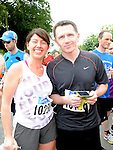 Yvonne McMahon and Eoin McGinn who took part in the Annagassan 10K run. Photo: Colin Bell/pressphotos.ie