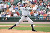 June 1st 2008:  Pitcher Steven White (45) of the Scranton Wilkes-Barre Yankees, Class-AAA affiliate of the New York Yankees, during a game at Frontier Field in Rochester, NY.  Photo By Mike Janes/Four Seam Images