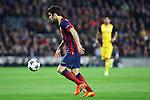 UEFA Champions League 2013/2014.<br /> Quarter-finals 1st leg.<br /> FC Barcelona vs Club Atletico de Madrid: 1-1.<br /> Cesc Fabregas.