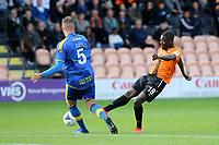 Wesley Fonguck of Barnet takes a shot at the Solihull Moors goal during Barnet vs Solihull Moors, Vanarama National League Football at the Hive Stadium on 28th September 2019