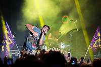 Bulldog Bash - DNCE performing<br />  (photo by Beth Wynn / &copy; Mississippi State University)