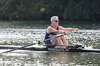 Race: 136  MasH.1x  Semi-Final<br /> 203  Upper Thames Rowing Club (Gullett)<br /> 208  Minerva Bath Rowing Club (O'Farrell)<br /> <br /> Henley Masters Regatta 2018 - Friday<br /> <br /> To purchase this photo, or to see pricing information for Prints and Downloads, click the blue 'Add to Cart' button at the top-right of the page.