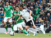 June 11th 2017, Dublin, Republic Ireland; 2018 World Cup qualifier, Republic of Ireland versus Austria;  Harry Arter of Ireland in action against Julian Baumgartlinger of Austria