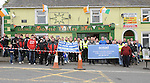 Bikers who took part in The North South Cycle Awareness bike run at Slane. Photo: Colin Bell/pressphotos.ie