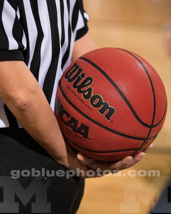 The University of Michigan women's basketball team beat Detroit, 70-62, at Crisler Center in Ann Arbor, Mich., on November 9, 2012.