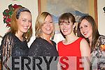 Ann Maire Sastigan, Ailish Ryan, Joanne Hegarty and Mairead Ryan Killarney enjoying the New Year Eve in Murphy's bar Killarney