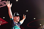 Sam Bennett (IRL) Bora-Hansgrohe wins Stage 7 of the 2018 Giro d'Italia, a flat stage running 159km from Pizzo to Praia a Mare, Italy. 11th May 2018.<br /> Picture: LaPresse/Gian Mattia D'Alberto | Cyclefile<br /> <br /> <br /> All photos usage must carry mandatory copyright credit (&copy; Cyclefile | LaPresse/Gian Mattia D'Alberto)
