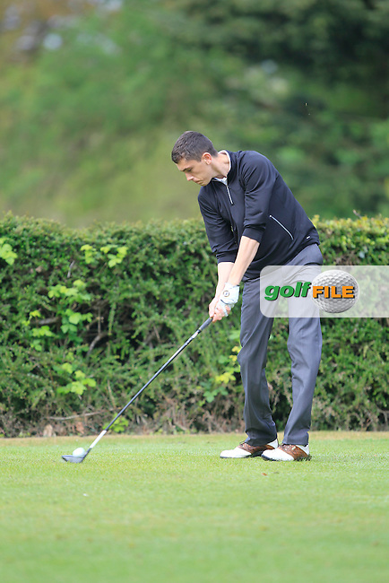 Caolan Kennedy (Forest Little) on the 6th tee during the Mullingar Scratch Trophy Day 2 at Mullingar Golf Club Belvedere 19th May 2013.Picture: Thos Caffrey www.golffile.ie...