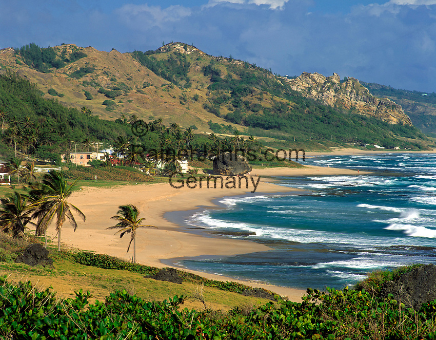 BRB, Barbados, Bathsheba: einsamer Strand an der Ostkueste | BRB, Barbados, Bathsheba: secluded beach at the east coast